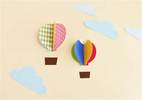 balloon pop up card template pop up air balloons design is yay bloglovin