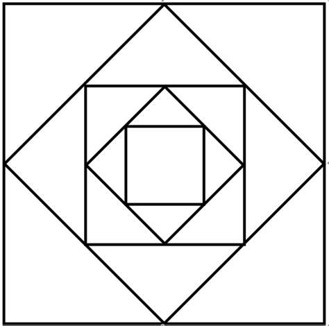Vorlagen Geometrische Muster Pythagoras Rindi S