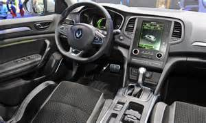 Renault Megane Interior The All New Renault Megane Is Big On Technology