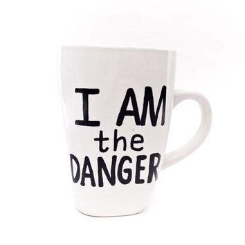 Murah Sweater Bad Danger White i am the danger breaking bad mug from gnarlyink on etsy
