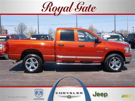 2008 sunburst orange pearl dodge ram 1500 big horn edition cab 4x4 27993052 gtcarlot