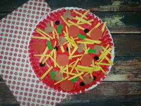 Art And Craft Ideas For Home Decoration paper plate pizza craft idea shesaved 174