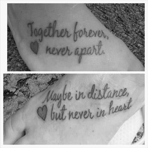 tattoo quotes for mom and daughter mother daughter tattoo quotes quotesgram
