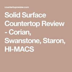 Solid Surface Countertops Reviews 1000 Ideas About Solid Surface On Solid