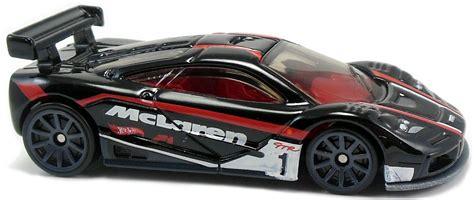 Mclaren F1 Gtr Hitam By Hotwheels mclaren f1 gtr 72mm 2010 wheels newsletter
