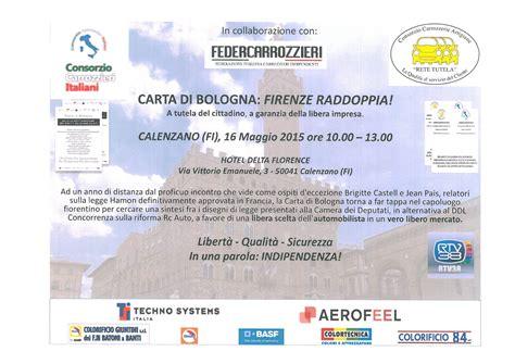 carrozziere bologna rc auto convegno a calenzano firenze il 16 maggio 2015