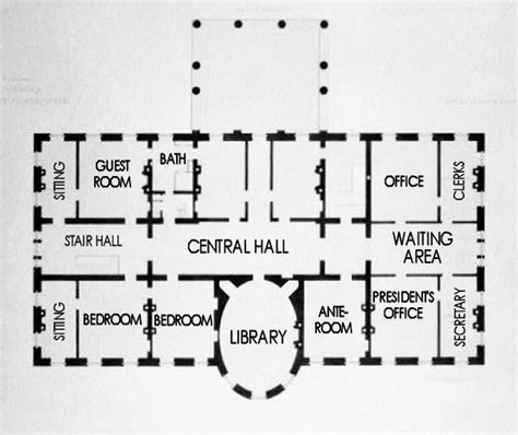 lincoln movie and white house floor plans history tech second floor white house museum