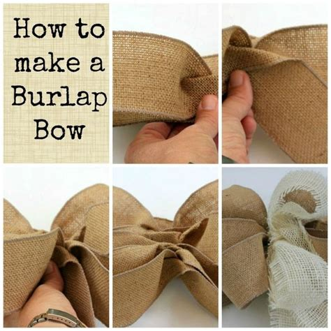 how to place burlap bow and burlap streamers on christmas tree 25 best ideas about burlap bow tutorial on wreath bows bows and burlap