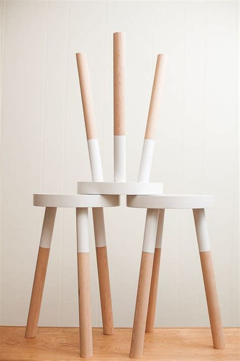 Painted Wooden Stools by Kitchen You Could Give Some Yard Sale Stools A Diy Paint