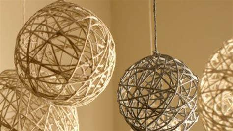 diy glitter twine ornaments easy diy yarn or twine decorative balls thrifty momma ramblings