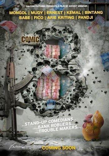 film layar lebar indonesia comic 8 banyolan stand up comedy akan dituangkan ke layar lebar