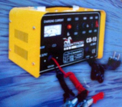 maxtron portable battery charger cb 50 via lapakotomotif