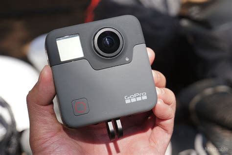 Gopro Fusion on with gopro fusion the company s 5 2k resolution 360