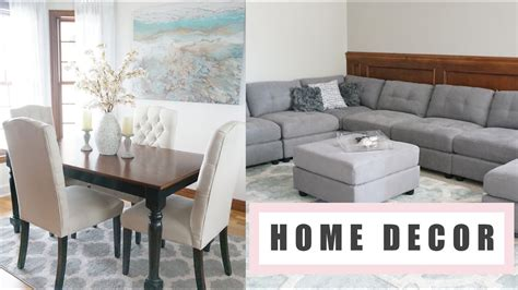 home decor haul updates well woven homegoods tj