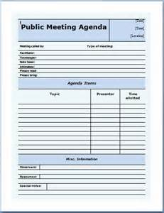 offsite agenda template 10 formally used agenda templates formal word templates