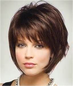 haircuts to flatter heavy womens short hairstyles for fat faces regarding inspire