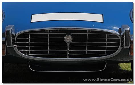 Car Grille Types by Simon Cars Jaguar E Type