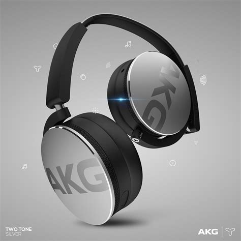 Akg Bluetooth Headphone Y50 Bt new akg y50bt portable foldable on ear rechargeable bluetooth headphones silver 9002761035773 ebay