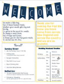 welcome packet template oot welcome letter packet weddingbee