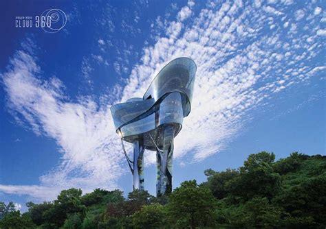 Floating observatory korea building kyeonggido sungnam e architect