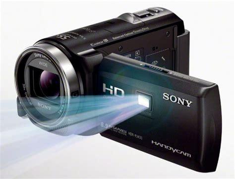Handycam Proyektor Sony sony hdr pj430v hd camcorder reviews 2013 pj430 handycam projector smartreview