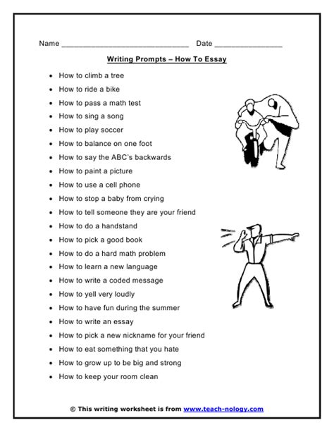 How To Teach Essay Writing To by How To Essay Writing Prompts