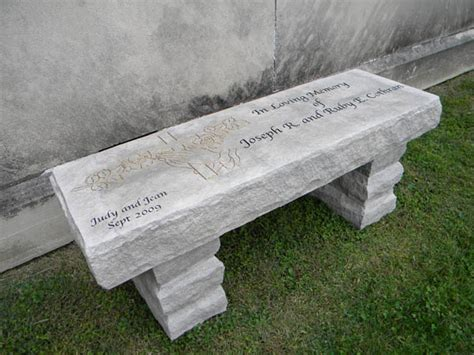 limestone bench indiana limestone bench stone age creations