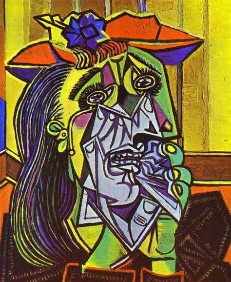 Tired Of Tired Of See Picasso S Weeping