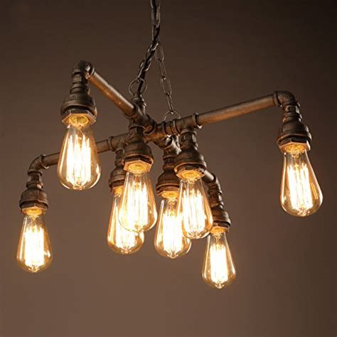 Vintage Style Painted Metal And Chandelier 4 Light Shades Of Light Electro Bp Vintage Style Metal Chandelier Max 480w With 8 Lights Black And Silver Painted