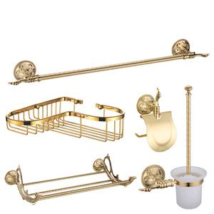 antique gold bathroom accessories antique bronze brass bathroom accessory sets 6