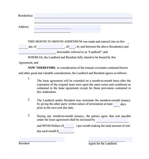Rental Agreement Letter Sle landlord agreement template 28 images landlord tenant
