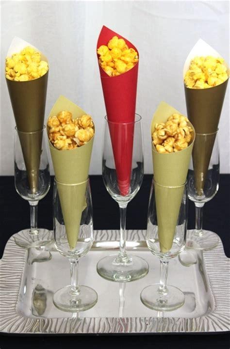 popcorn bar  sophisticated   serve popcorn