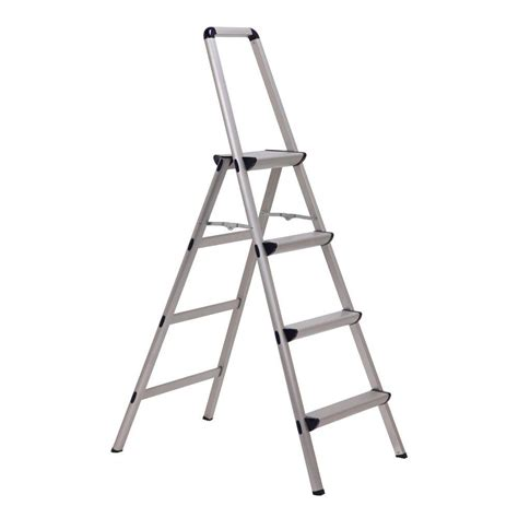 4 Ft Step Stool by Xtend Climb Ultra 4 Step Light Weight Aluminum Stool