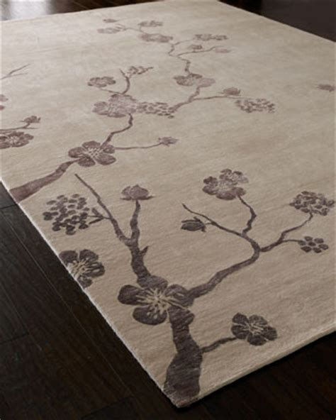 Cherry Blossom Area Rug Cherry Blossom Rug Traditional Rugs By Horchow