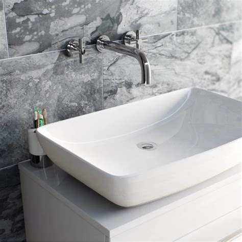 best bathroom taps uk enki modern cross handle bath filler mixer taps shower bathroom round oxford ebay