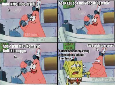 komik meme campuran indonesia spongebob patrick