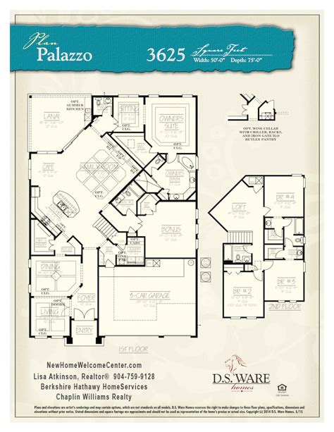 palazzo floor plan ocean breeze palazzo new home welcome centernew home