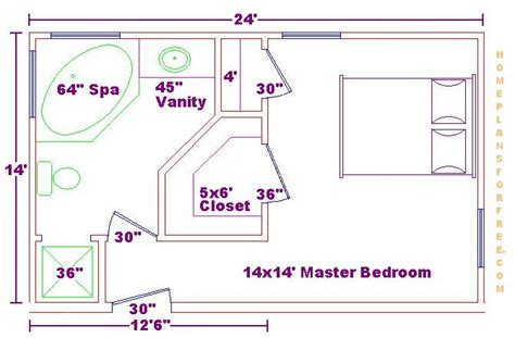 master bedroom and bath plans foundation dezin decor bathroom plans views