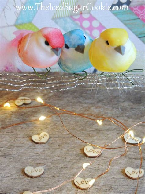 diy decorations led warm white birthday lights by theicedsugarcookie