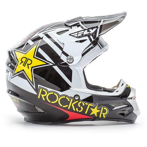 fly racing motocross fly racing 2017 mx f2 rockstar energy black white