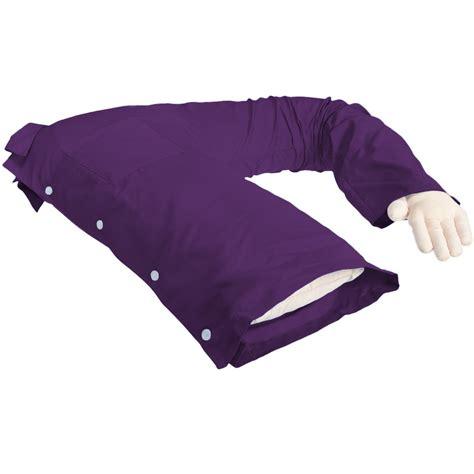 Boyfriend Pillow by Boyfriend Pillow Purple Original One Armed