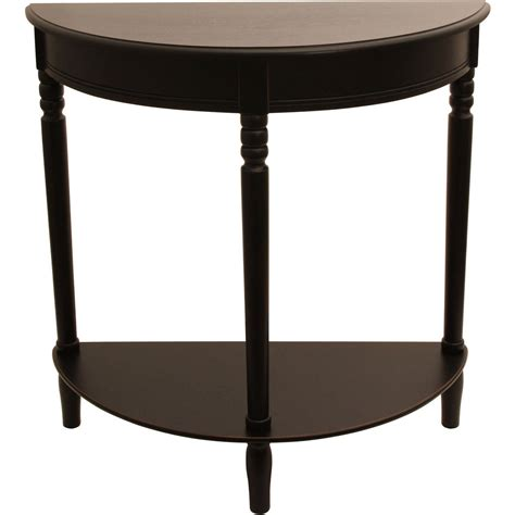 half round sofa table half round console table multiple finishes ebay