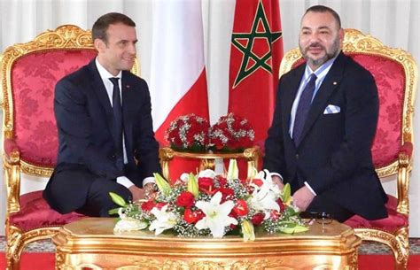 emmanuel macron rich france morocco a rich past and a promising future