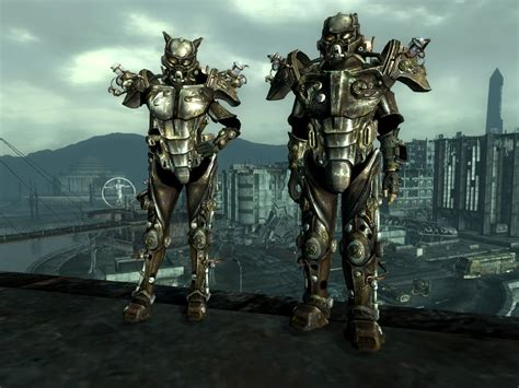 tesla armor teslaforgirls tesla power armor at fallout3 nexus