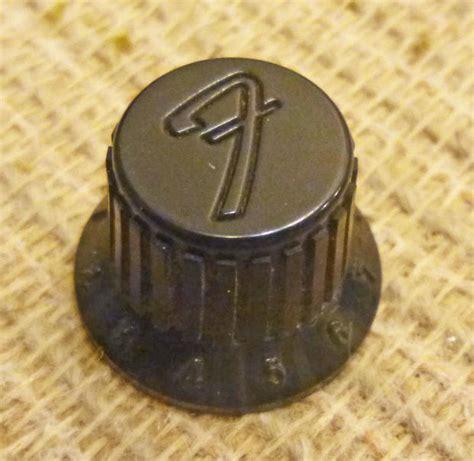 fender hm strat black knob original stratocaster
