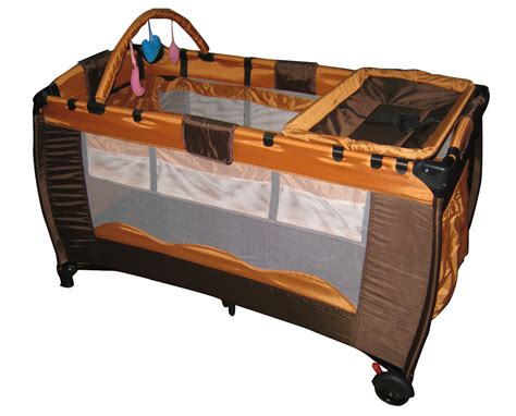 travel infant bed coffee infant baby child travel bed cot bassinet play pen