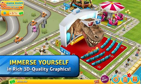 theme park play online new game ea s theme park lets you create the happiest