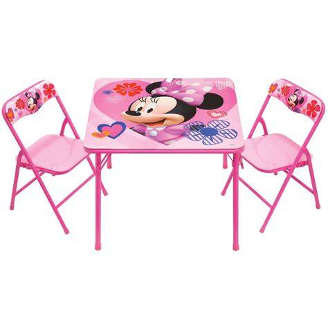 minnie mouse table and chair set 3 pc minnie table and chair set photo albums fabulous homes