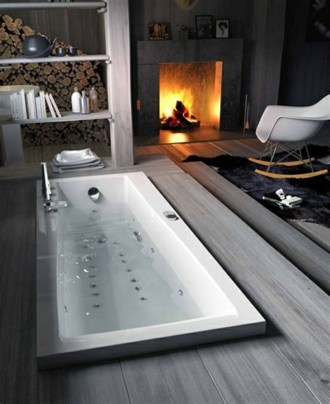 dekorieren ideen für badezimmer deko idee badewannen