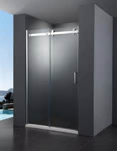 frameless sliding shower door at plumbing uk